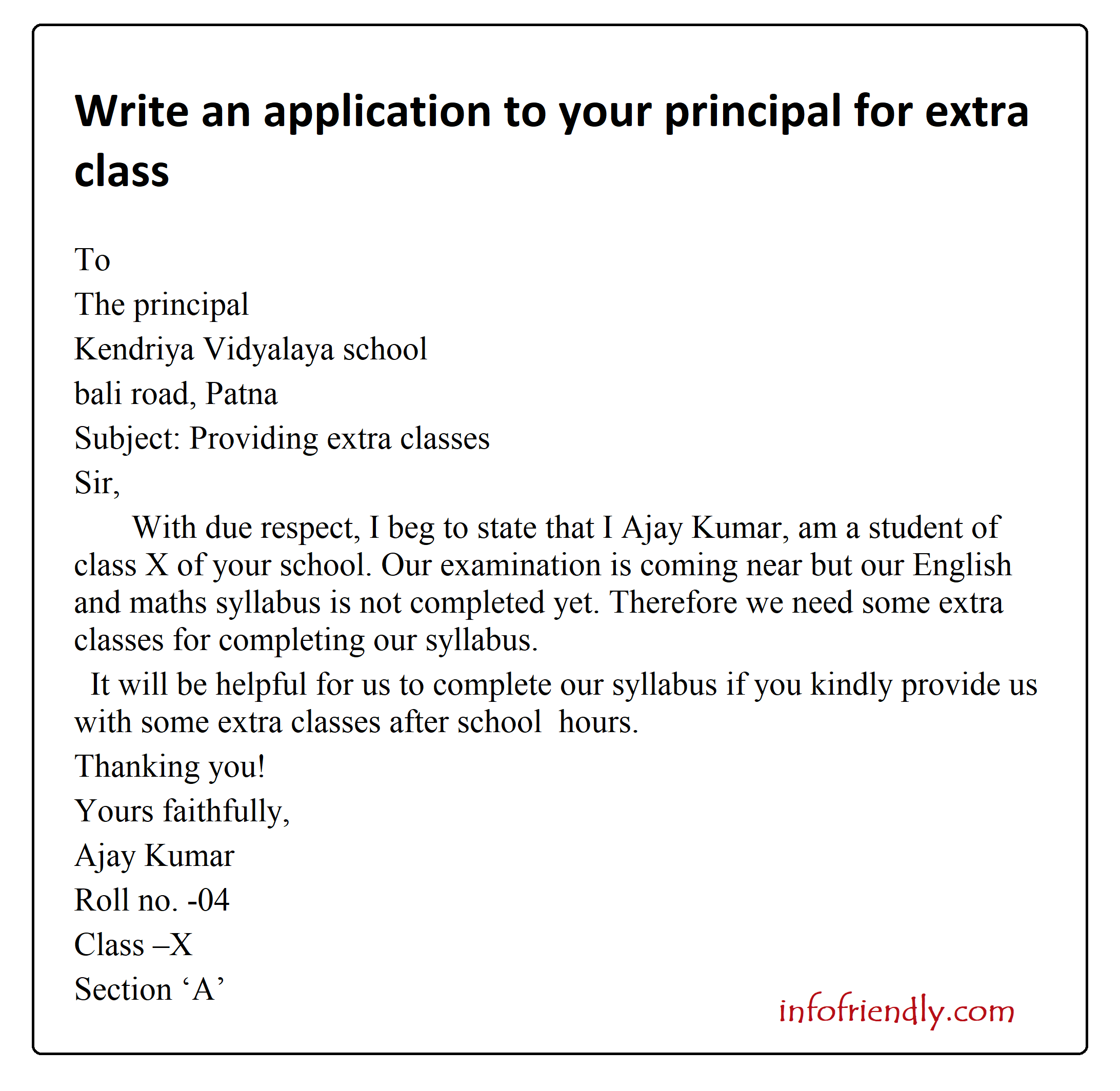 How to write an application essay in english