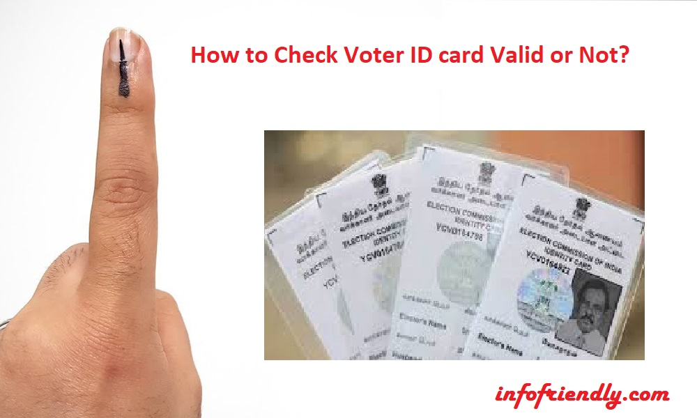 How to Check Voter ID card Valid or Not?