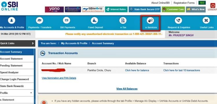How to apply New SBI Debit card Online