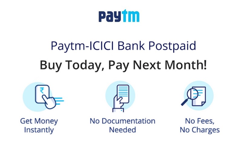 What is Paytm postpaid?