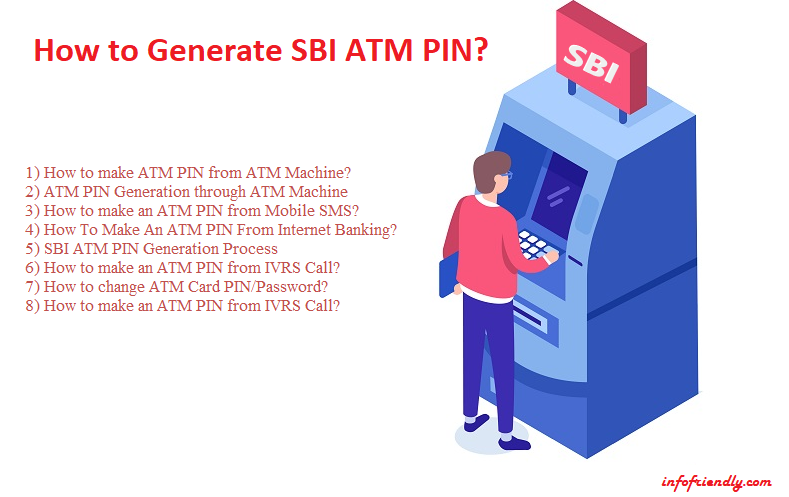 How to generate SBI ATM PIN? - INFOFRIENDLY