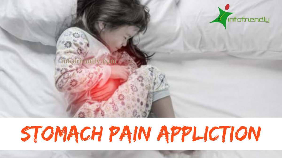 stomach pain Appliction