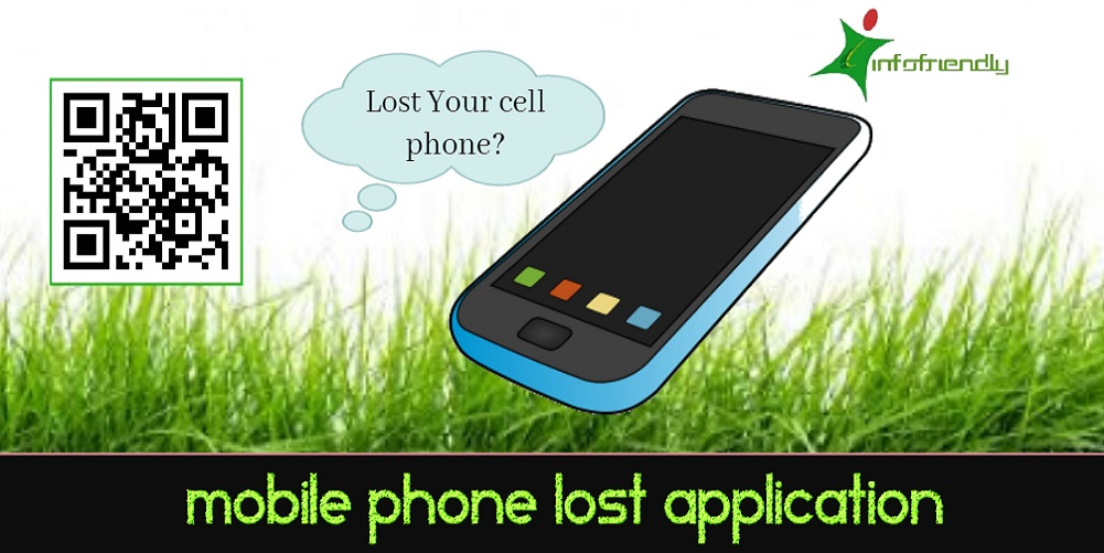 Mobile phone lost application