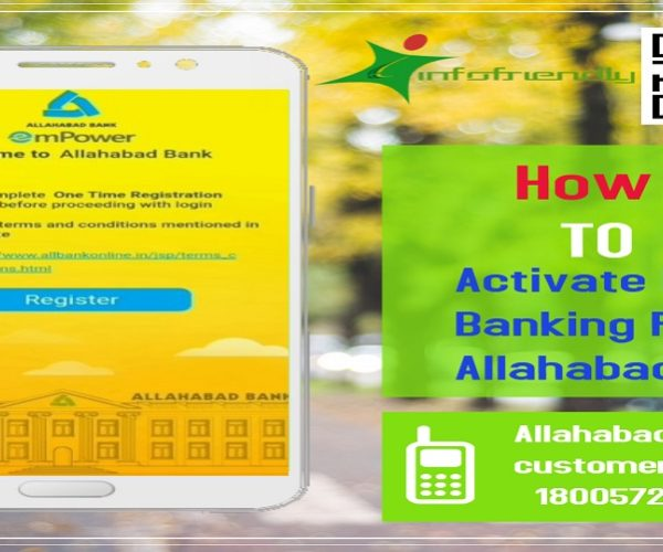How To Activate Mobile Banking For Allahabad Bank