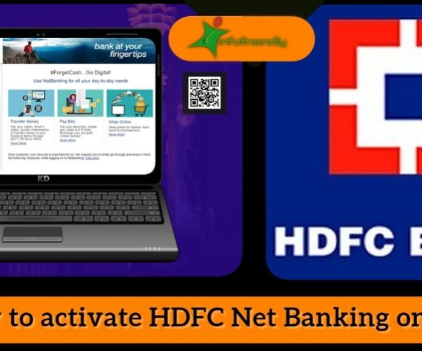 How to activate HDFC Net Banking