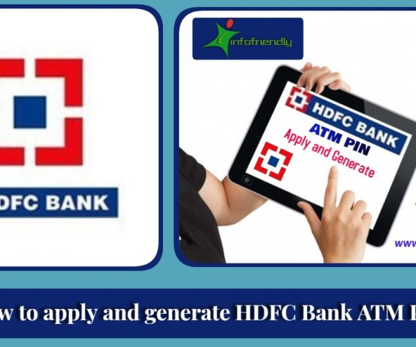 How to apply and generate HDFC Bank ATM PIN