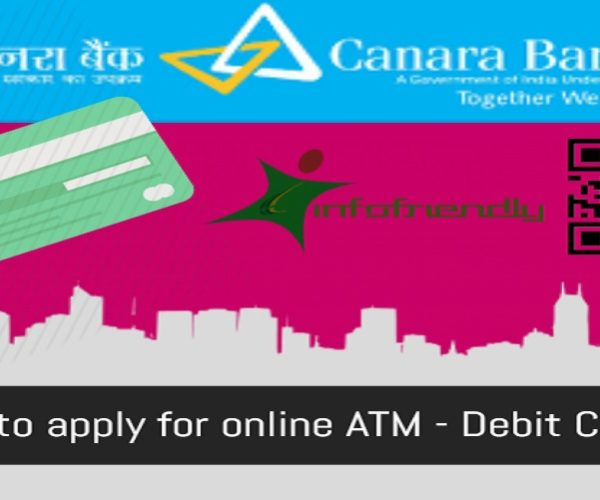 How to apply for new ATM - Debit Card online at Canara Bank?