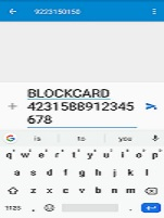 How to block Allahabad Bank ATM-Debit Card