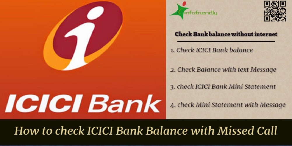 icici bank balance check number rajasthan