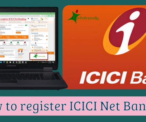 How to register ICICI Net Banking