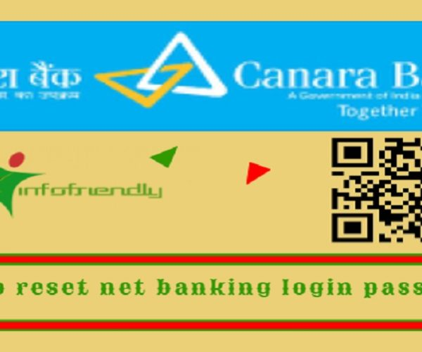 How to reset Canara Bank net banking login password?