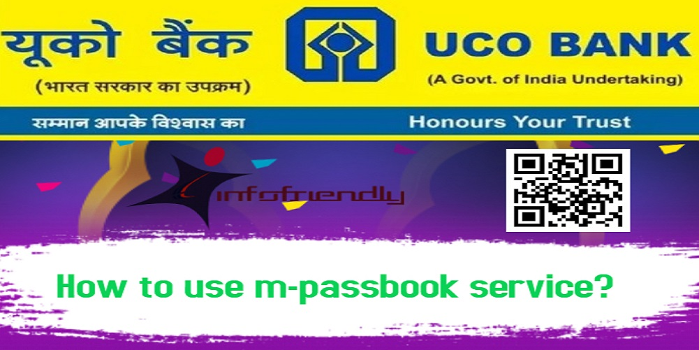 How to use UCO Bank m-passbook service?