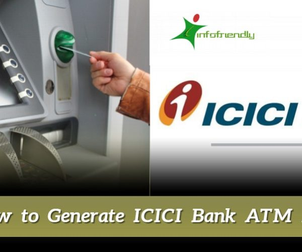 How to Generate ICICI Bank ATM Pin
