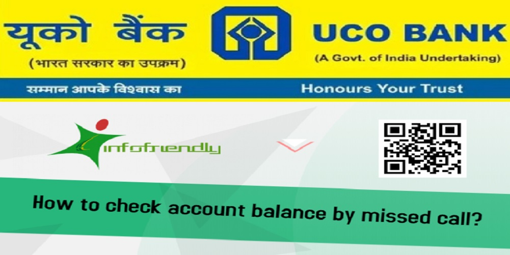 How to check with account balance missed call for UCO Bank?