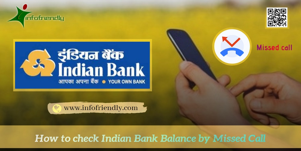 How to check Indian Bank Balance by Missed Call