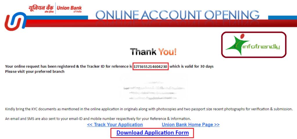 How to Open Union Bank online Zero balance saving account