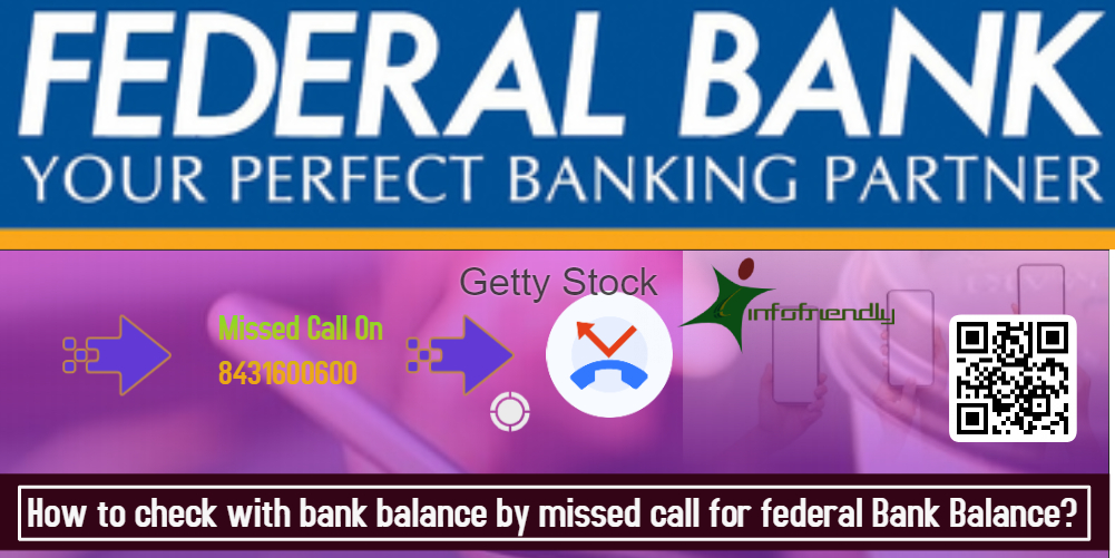 How to check with bank balance by missed call for federal Bank Balance?