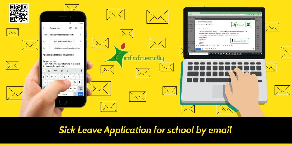 Sick Leave Application for school by email