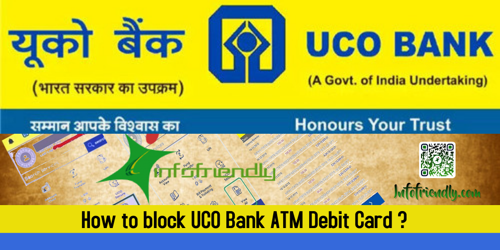 How to block UCO Bank ATM Debit Card?