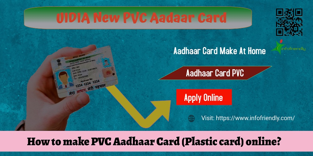 How to make PVC Aadhaar Card (Plastic card) online?