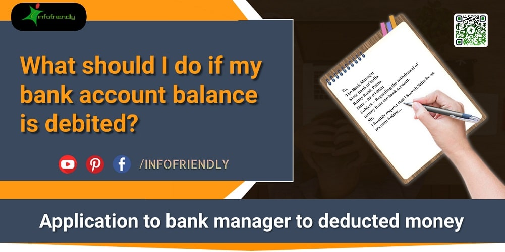 Money is deducted from the bank