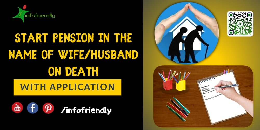 Application to start pension in the name of Wife Husband on death
