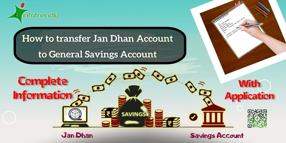How to transfer Jan Dhan Account to General Savings Account