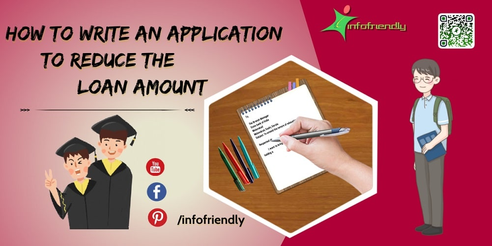 How to write an application to reduce the loan amount
