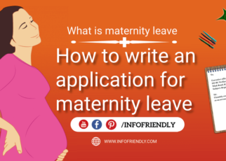Application for maternity leave infofriendly.com